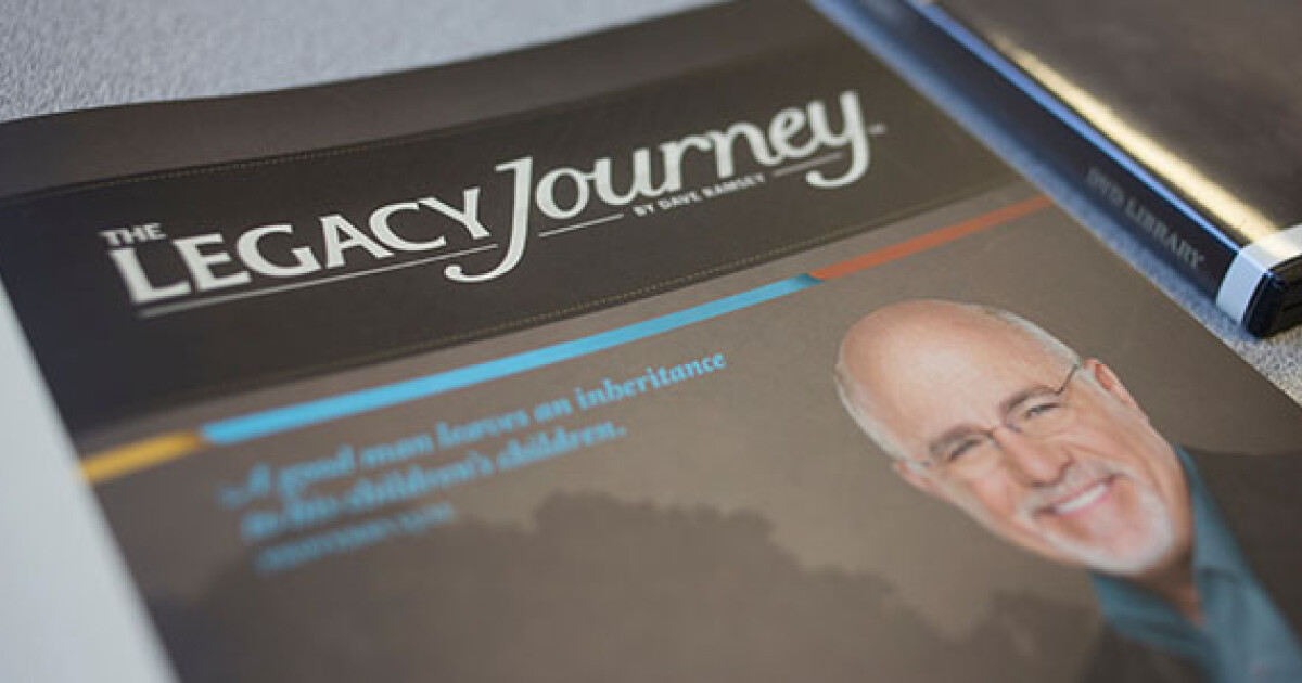 The Legacy Journey is an all-new, seven-week, biblically-based class that teaches you how to truly live and leave a legacy for generations to come.