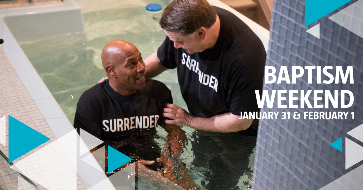 Baptism is open to all believers who desire to demonstrate their faith in Christ. We will provide you with a t-shirt and towel. Please wear clothes that you can be baptized in. Family and friends are welcome! If you would like to be baptized on...