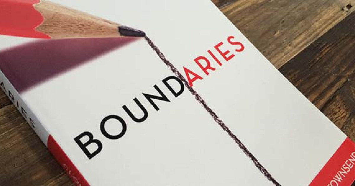 Many people struggle with boundaries. 