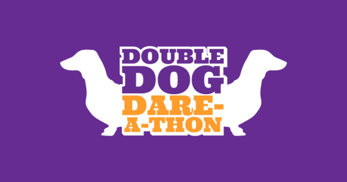 An event designed to encourage middle school students to bring a friend/friends to church. Parents, check out this video to learn a little more about Double Dog Dare-A-Thon!