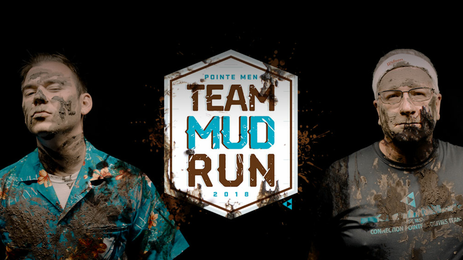 Pointe Men Team Mud Run