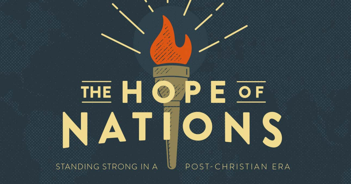 How can we best prepare our children and grandchildren for the world they will inherit? We're excited to hear from Pastor John this weekend on his new book, Hope of Nations. You can read the first 3 chaptershere. Please share, invite and pray for this important message this weekend.