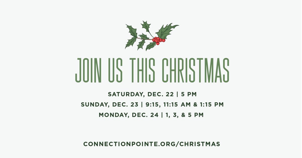 Join us this Christmas for a service the whole family can enjoy. 