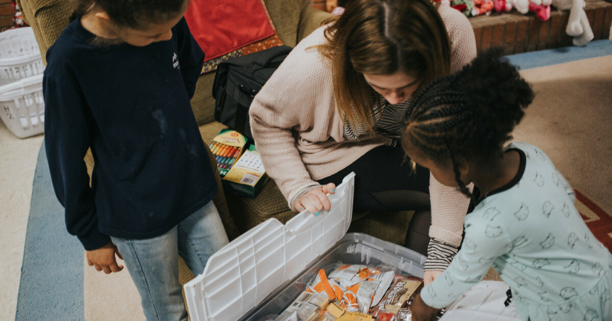 This winter Kid City will be collecting a variety of food and drinks for the kids that attend Mountain Mission School.