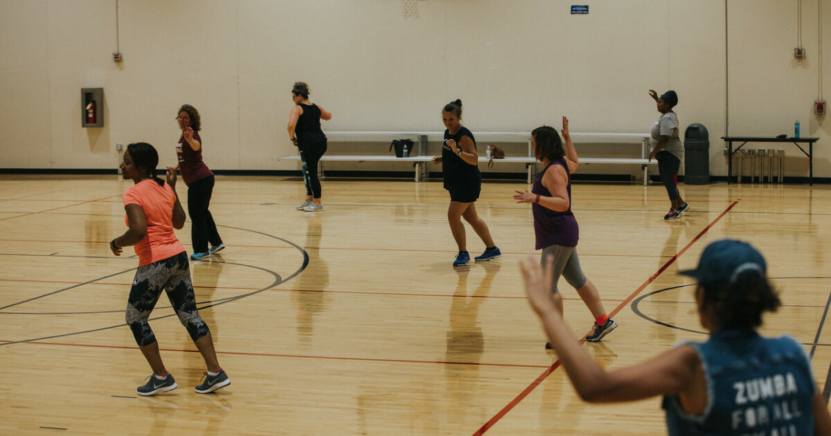Zumba fuses hypnotic musical rhythms and tantalizing moves to create a dynamic workout system designed to be FUN and EASY TO DO!
