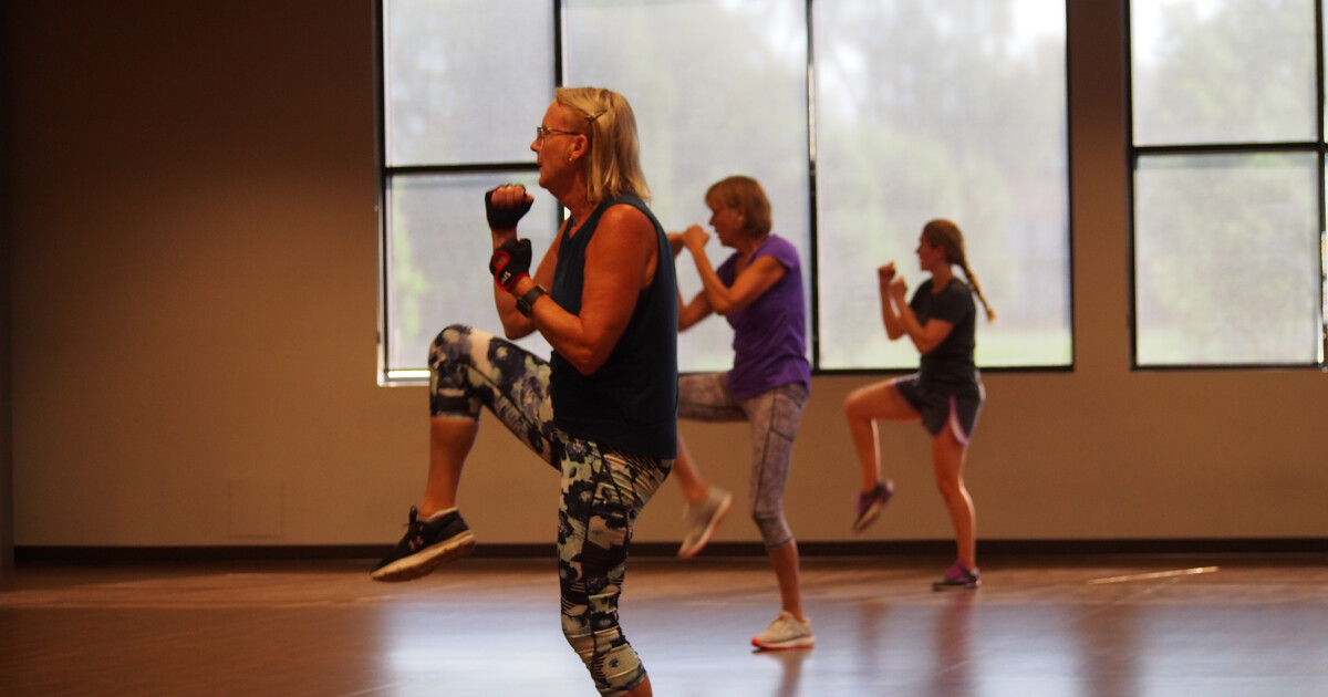 This class combines basic boxing, kickboxing and traditional martial arts techniques into a music based moderate to high intensity workout. Designed to support basic defensive and offensive fundamental movements; promoting cardio fitness, core...