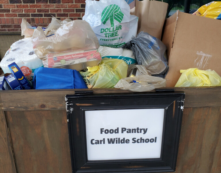 Carl Wilde Food Pantry