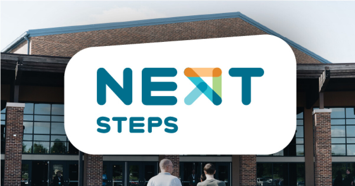 Looking for what your next step is? Whether you've been around church your whole life or this is a brand new journey, we have a place for you.